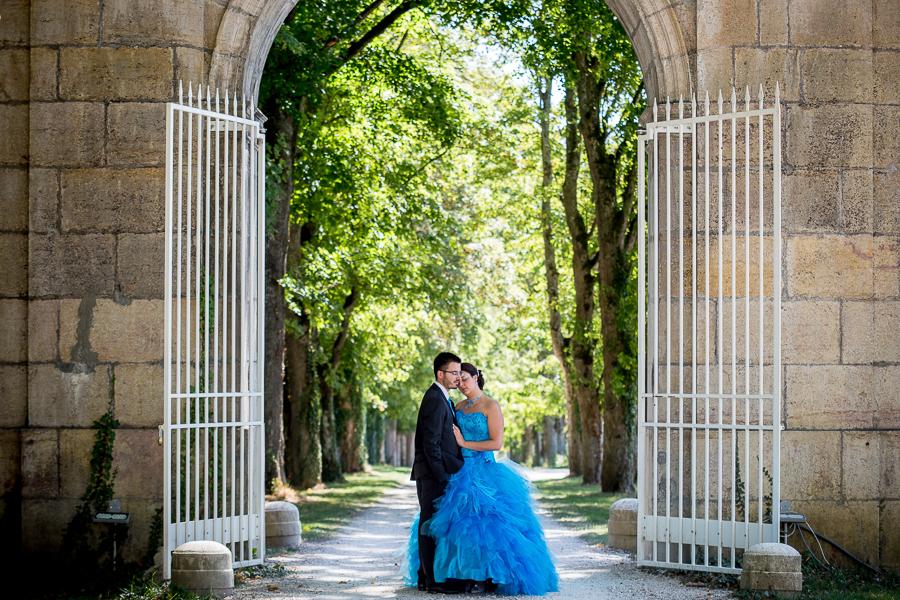 Mariage à Dijon au Château de Trouhans – { Manue & Kevin }