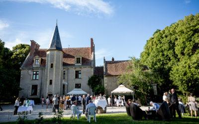 Mariage au château Le Sallay { Claire & Adrien }