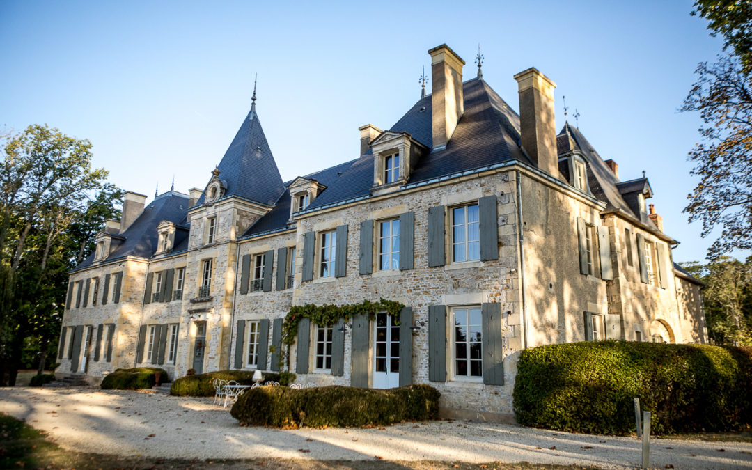Mariage au château de  Planchevienne
