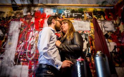 Love Session à Street Art City dans L'Allier