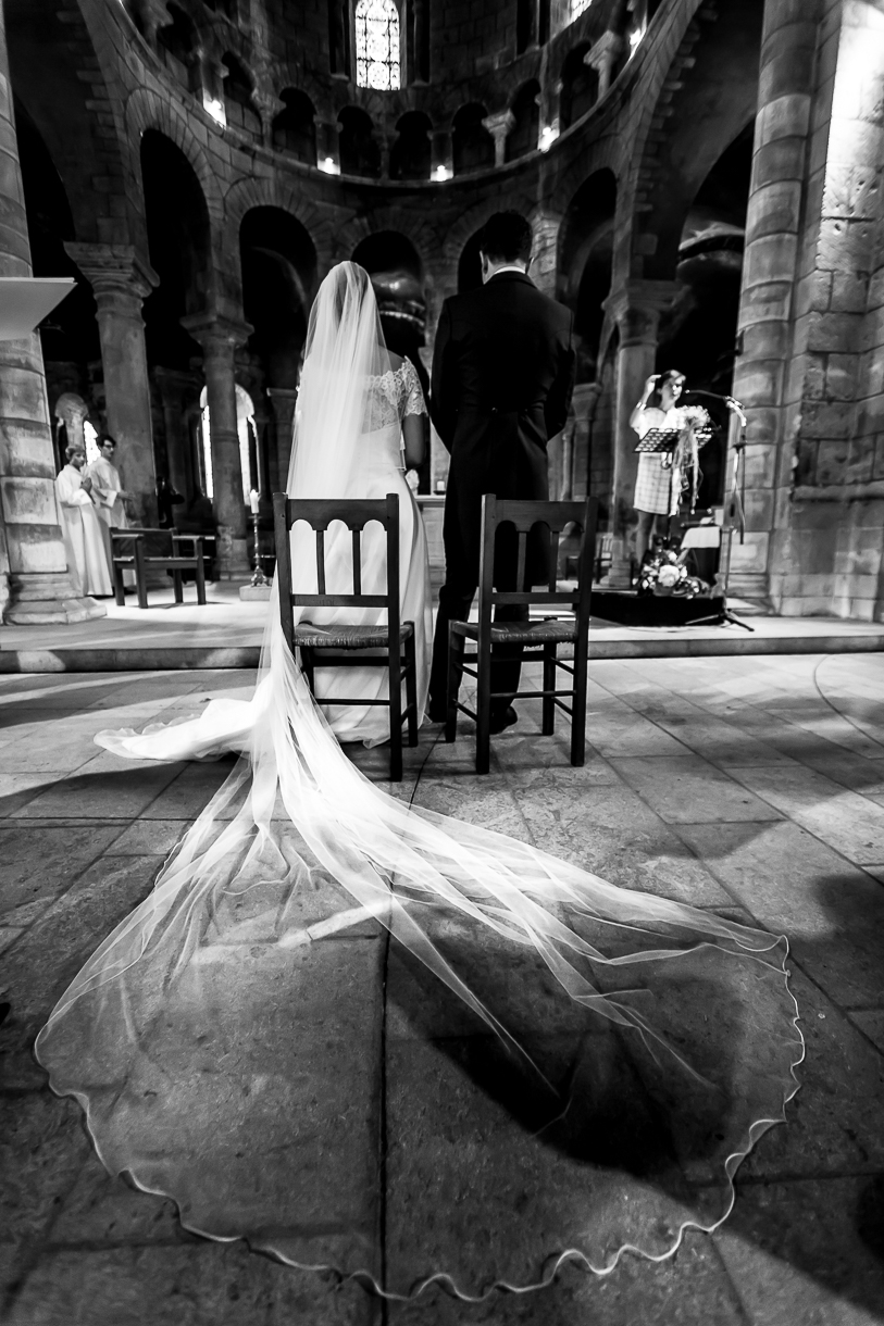 voile mariée église