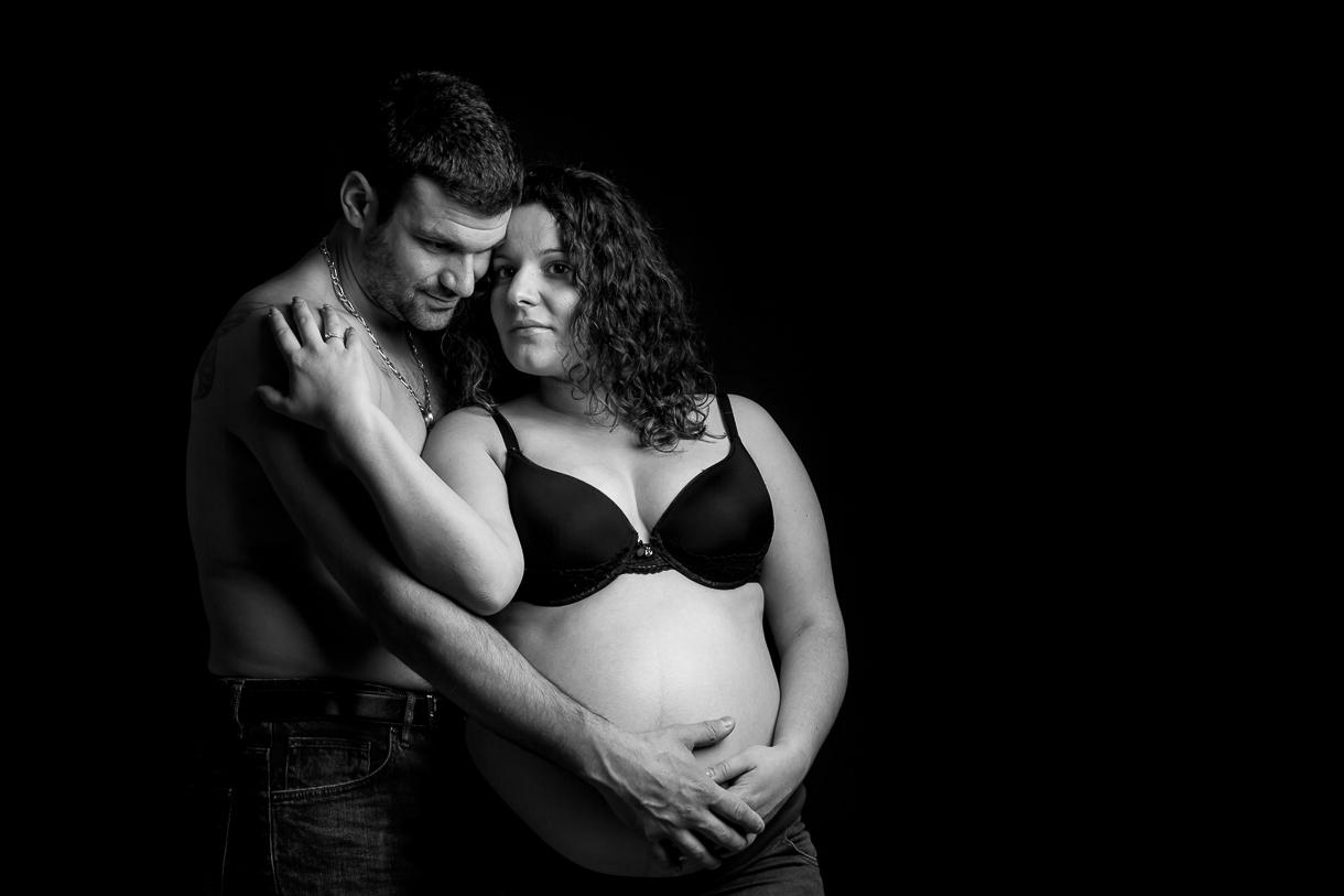 séance photo femme enceinte couple