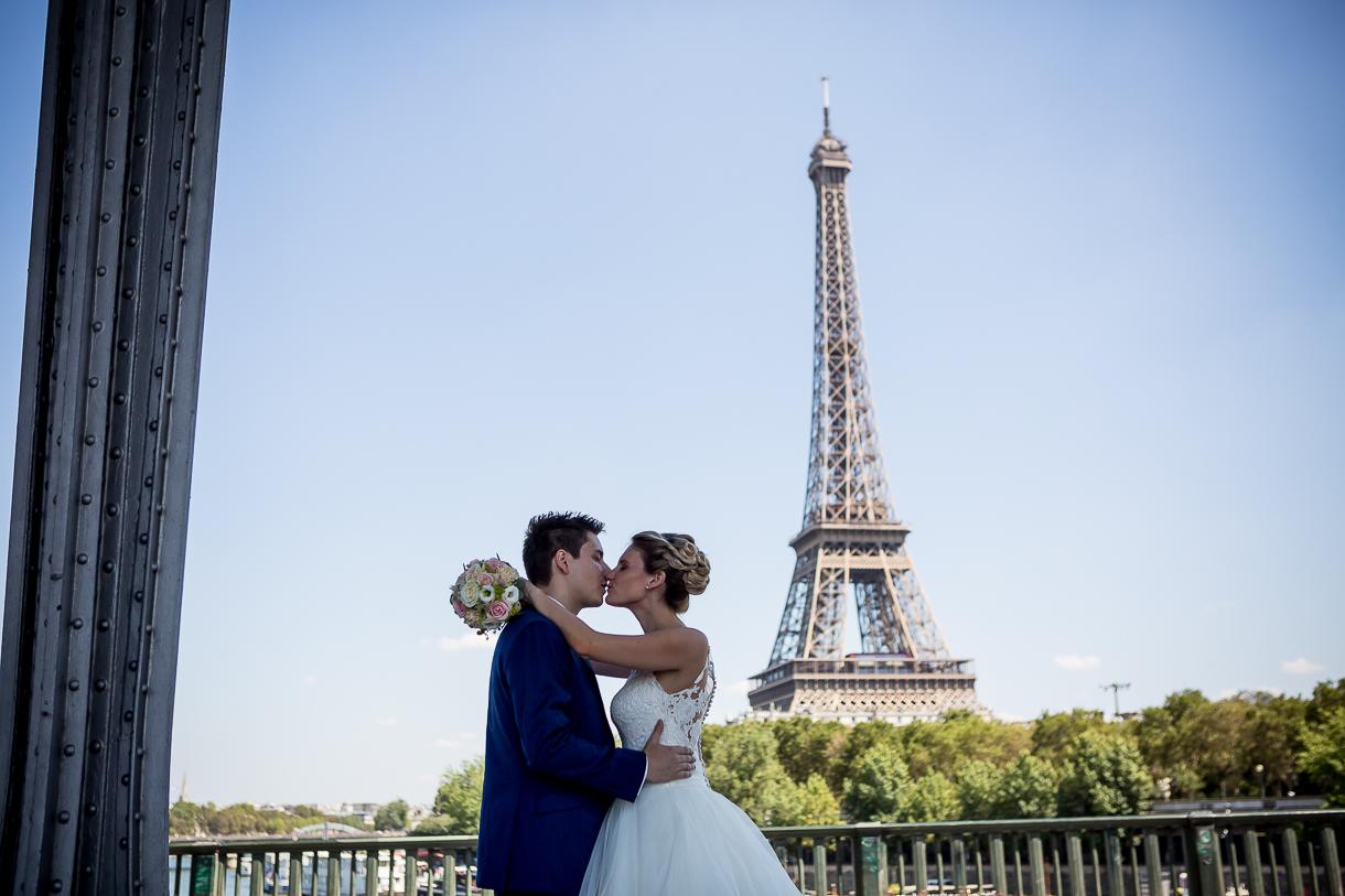 photo couple mariage Paris
